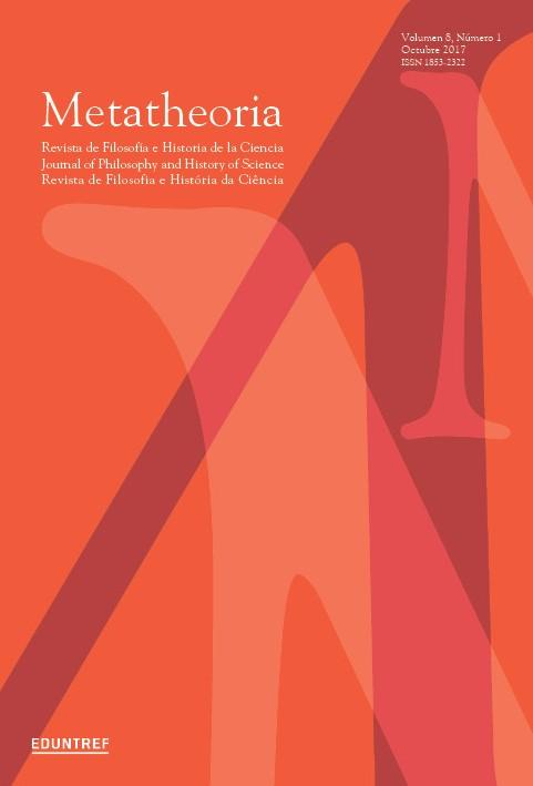 Ver Vol. 8 Núm. 1 (2017): Volumen especial - Filosofía de la biología en Iberoamérica - Parte I