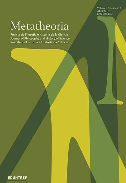 Ver Vol. 6 Núm. 2 (2016): Volumen temático - Modelos y teorías en biología - Parte I