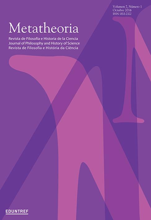 Ver Vol. 7 Núm. 1 (2016): Volumen temático - Modelos y teorías en biología - Parte II