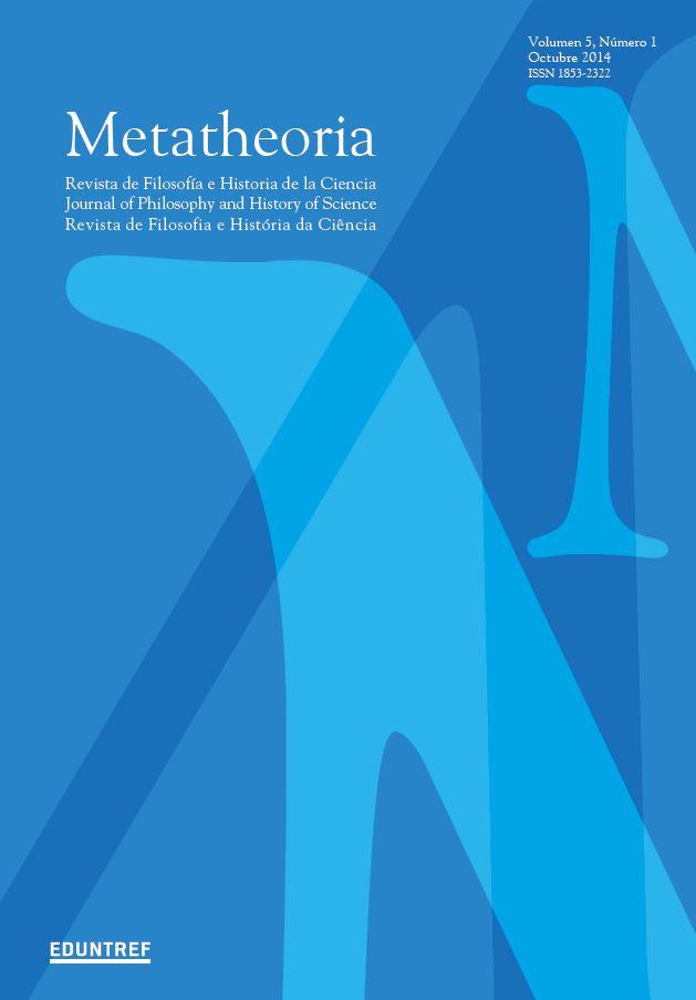 Ver Vol. 5 Núm. 1 (2014): Número especial - Filosofía de las ciencias de la vida: fronteras difusas